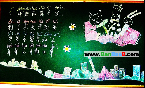 小学简单黑板报设计图